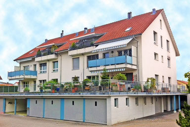 Fassaden-Sanierung /  Äussere Malerarbeiten