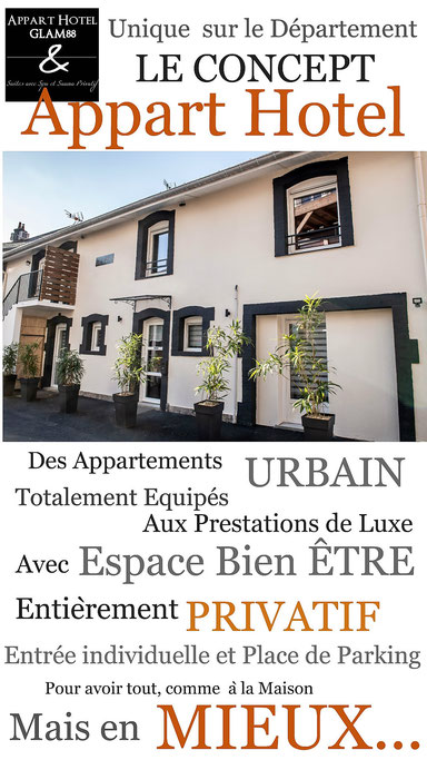 Appart Hotel Glam88 Remiremont Vosges