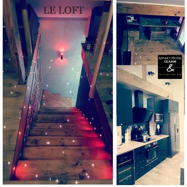 Suite Loft - Une Deco Tendance et Moderne - Bed and Spa Vosges