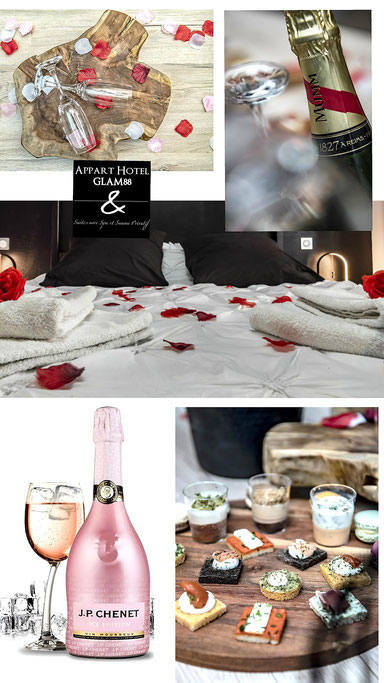 escapade romantique en bed and spa glam88 vosges