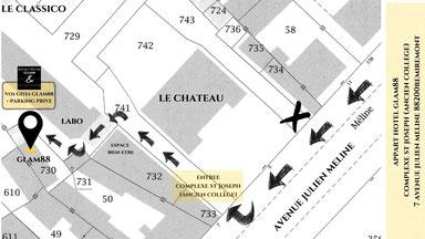 Trouver les Apparts Hotel Glam'88 à Remiremont