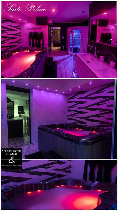 Appart hotel GLAM88 Spa Privé Vosges