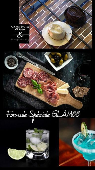 Les Cocktails du Glam88 Séjour en amoureux et déclaration d'amour