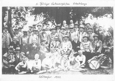 Schützenfest 1922