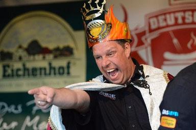 """Teamchef vom Team GutGlut und """"Deutscher Grillkönig"""" Michael Hoffmann"""