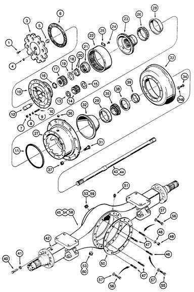 Case W18b Parts