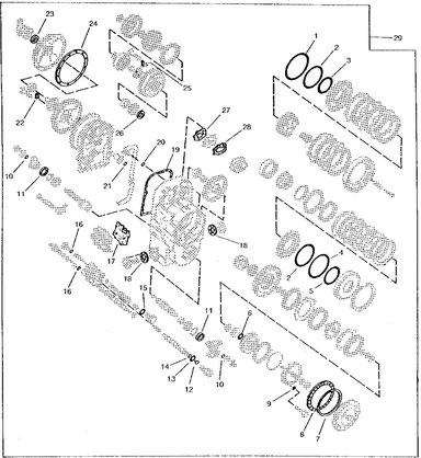 DEERE 644C PARTS - LES MACHINERIES ST-AMANT INC