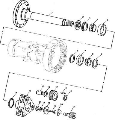 ASxle Shaft & Planetary section