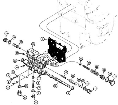 Hydraulic Control Valve Assy.