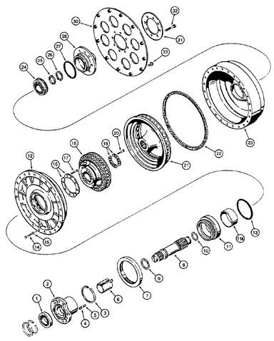 Case 1150g Parts