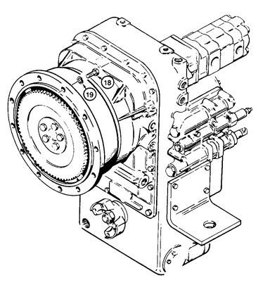 case w20c parts les machineries st amant inc Fiat 124 Engine Parts transmission assy