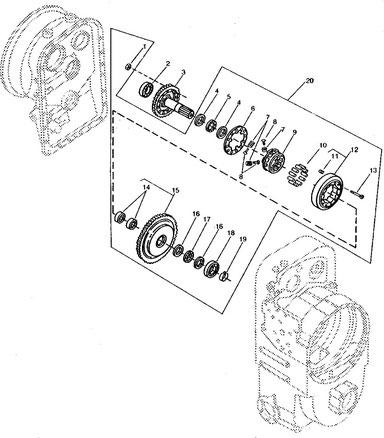 Deere 644d Parts