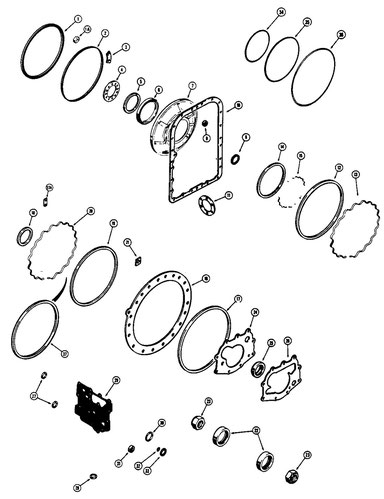 Overhaul Kit - Gaskets & Seals