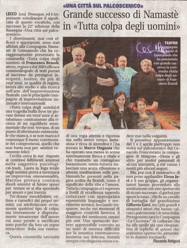 27 marzo 2017 Giornale di Lecco