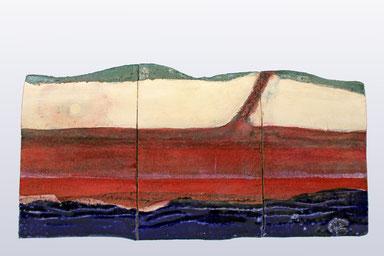 """Wasser - Erde - Himmel"", 54 cm x 28 cm"