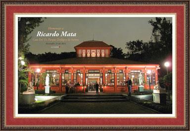 Homenaje a Ricardo Mata