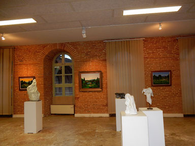 expo alain besse - serge sallan aux moulins albigeois --- albi 2016