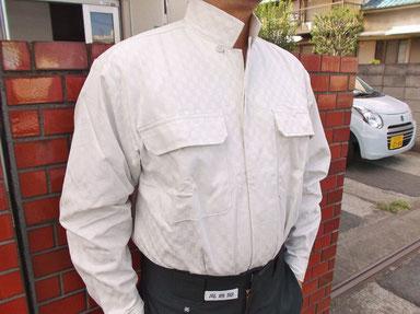 高倉屋オープンシャツ限定市松模様