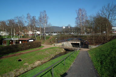 Dudweiler, Sulzbach, Minigolf, Hallenbad, Wiesental