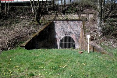 Dudweiler, In den Rodhecken, Stollenmund Grube Dudweiler, 1866