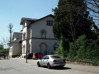 Dudweiler, Bahnhof, Bahnhofstraße, 1871