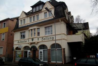 Dudweiler, Zeitung, Saarbrücker Straße, 1925