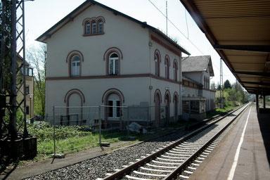 Bahnhof, Dudweiler, 1871