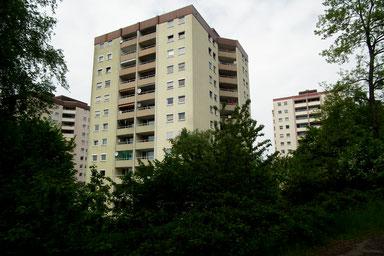 Dudweiler, Hochhäuser, Am Gehlenberg, 1962