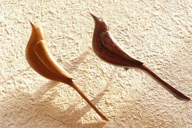 セキレイ2種 ナツメ ケヤキ