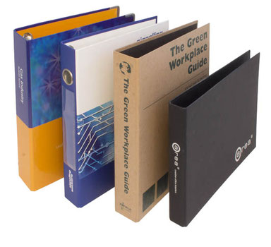 Printed POB Ring Binders | Cardboard Folder UK
