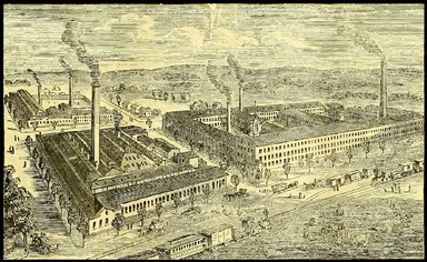 THE WHEELER & WILSON MANUFACTURING COMPANY'S FACTORY