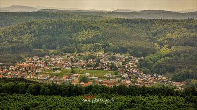 Luftaufnahme Stadtteil Neuhof