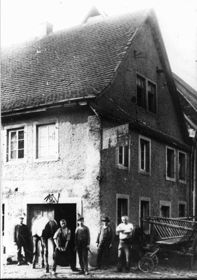 1920,  Alte Schmiede Theis