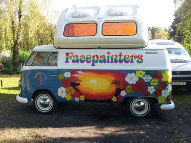 Gerne kommen wir mit unserem Flower-Power Bus zu ihrer Veranstaltung