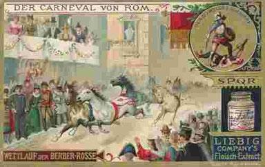Römischer Karneval: Pferderennen