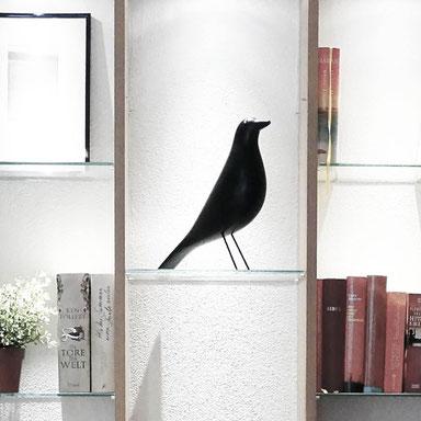 Einbauschrank mit Bücherregal