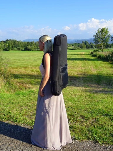Harfentasche für Reiseharfe Luna