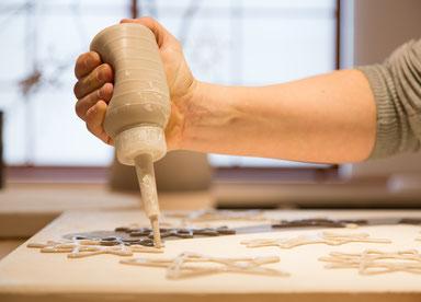 Handgefertigtes Porzellan als Geschenk, Mitarbeitergeschenk oder Kundengeschenk auch zum Geburtstag, Hochzeit oder zu Ostern und Weihnachten.