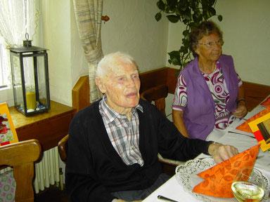 Am 100ten Geburtstag