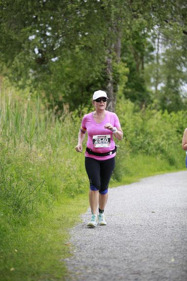 Simone Peters läuft und läuft und läuft