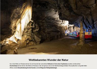 © 2018 Park der Höhle von Postojna | Produkcija: Innovatif