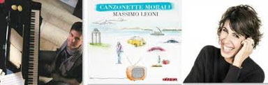 presentazione del primo lavoro di Massimo Leoni con la straordinaria partecipazione di Giorgia Todrani (Auditorium Parco della Musica - Roma)