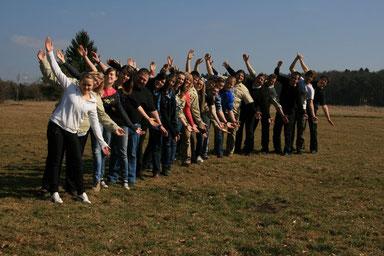 Aktuelle Leiterrunde mit Rovern und freien Mitarbeitern - Bild vom 10.03.2012