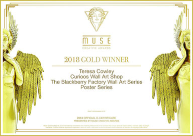 Teresa Cowley's 2018 Muse Creative Awards eCertificate