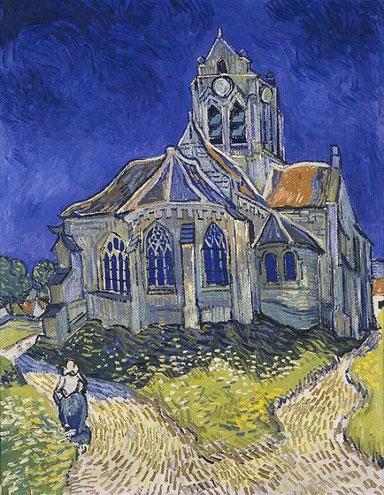 Самые известные картины Ван Гога - Церковь в Овере