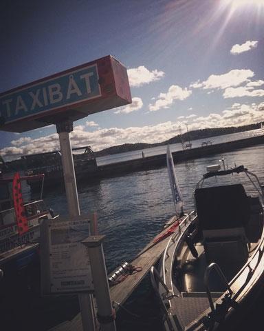 mer taxiboat suède archipel vaxholm