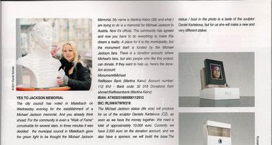 Worldwide edition Michael Mania ICON Magazin