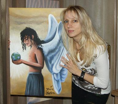 """Das Titel Bild des Buches """"Flügel für einen Engel"""" - mARTina"""