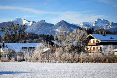 Chiemsee Alte Gendarmerie Winter