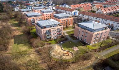 Eigentumswohnungen in Dresden, OBERÜBERKARGER, Luftaufnahmen, Dresden von oben